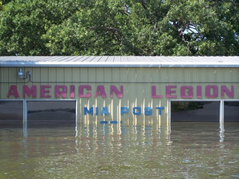 Lake Texoma Flood - American Legion Post 231
